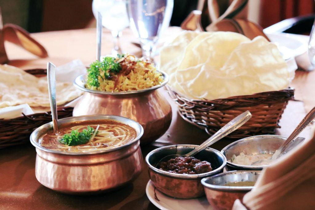 そのインド料理の3つのベストレストラン