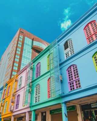 Looking for a gram-worthy spot in Bandar Seri Begawan? Spot the row of colourful buildings at Jalan Roberts - the most photogenic street in town.   Share us your Insta-moment with hashtag #DiscoverBrunei!   #travelgram #instatravel #travelasia #travelinspiration #travelphotography #travel #wanderlust #destinationearth #seetheworld